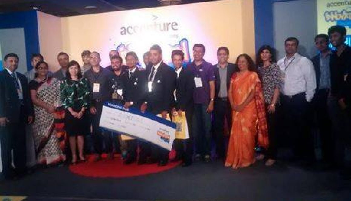 First Position at Accenture Innovation Jockey 2014