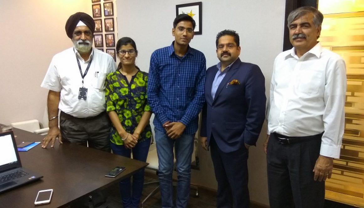 Team Spiro Studios Of Manav Rachna Bags Infosys