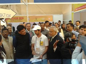 MRIIRS Student won 3rd prize at GridTech 2015