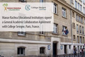 MREI signed a General Academic Collaboration Agreement with College Sevigne, Paris, France