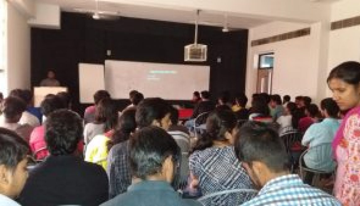 Alumni Lecture Organized on 05-10-2016 by Electronics and Communication Engineering Department