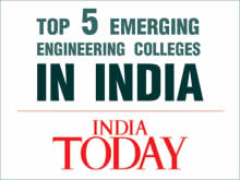 Top 5 Emerging colleges by India Today