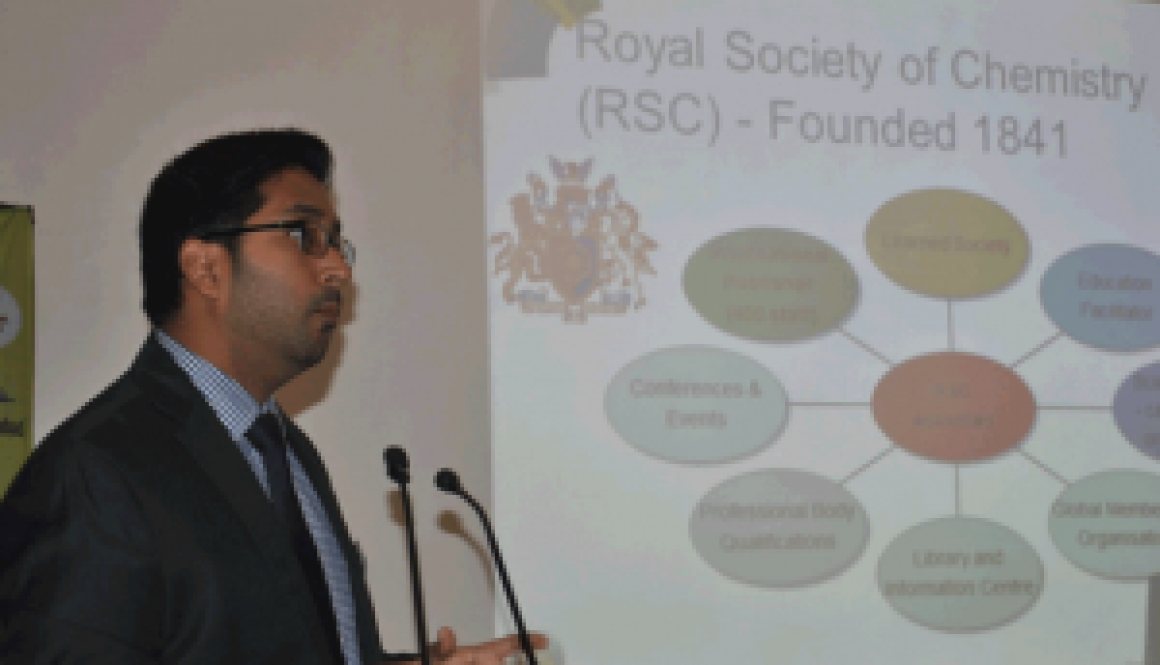 Invited Talks Invited Lecture by Dr. Abhiram Prabhu, Member Relations Royal Society of Chemistry (RSC), London, North India Section.