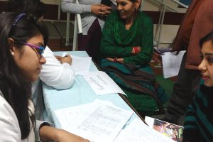 Health camp at SOS Children's Village of India (FSP) Anangpur Village, Faridabad