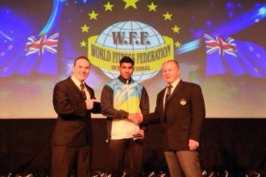 Lokesh Sharma of Mechanical Engineering Department Bagged 4th Position Over The World In NABBA WFF Fitness Model Championship