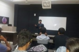 Department of Management and Commerce, MRU organized a Guest Lecture by Mr. Sarvesh Pancholi, an Entrepreneur for the students of BBA Entrepreneurship and Family Business