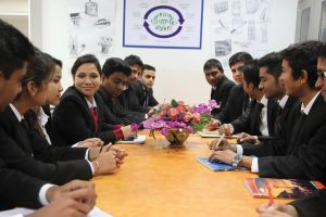 A session on College to Corporate by Mr. Anil Tyagi