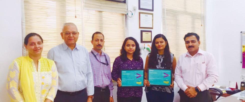 Jury's Choice Award won by Students of Manav Rachna at Innovation Jockeys Season 5 and makes their mark as promising young Innovators of the country!