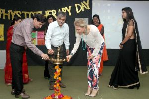 Health Diagnostic and Flexibility Testing Camp Organized at Manav Rachna International University, celebrating World Physiotherapy Day