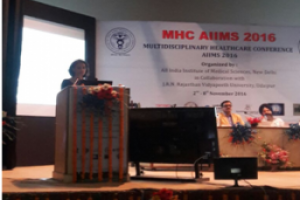 Expert Lecture by Dr. Pratibha Singh at AIIMS
