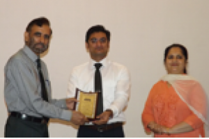 Alumni lecture organised on April 20, 2016 Mechanical Engineering Department