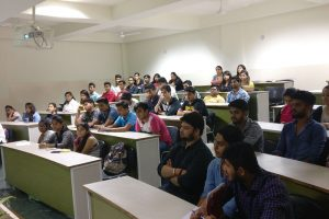 An Alumni session 'Youth is the Future' for BBA and B.Com students