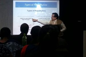 Invited Lecture on Olefin Polymers by Dr Shashikant of IOCL R&D