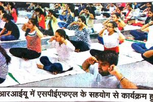 MRIU celebrates International Yoga Day on a Grand Scale with Yoga and Meditation session for harmonizing mind, body and soul