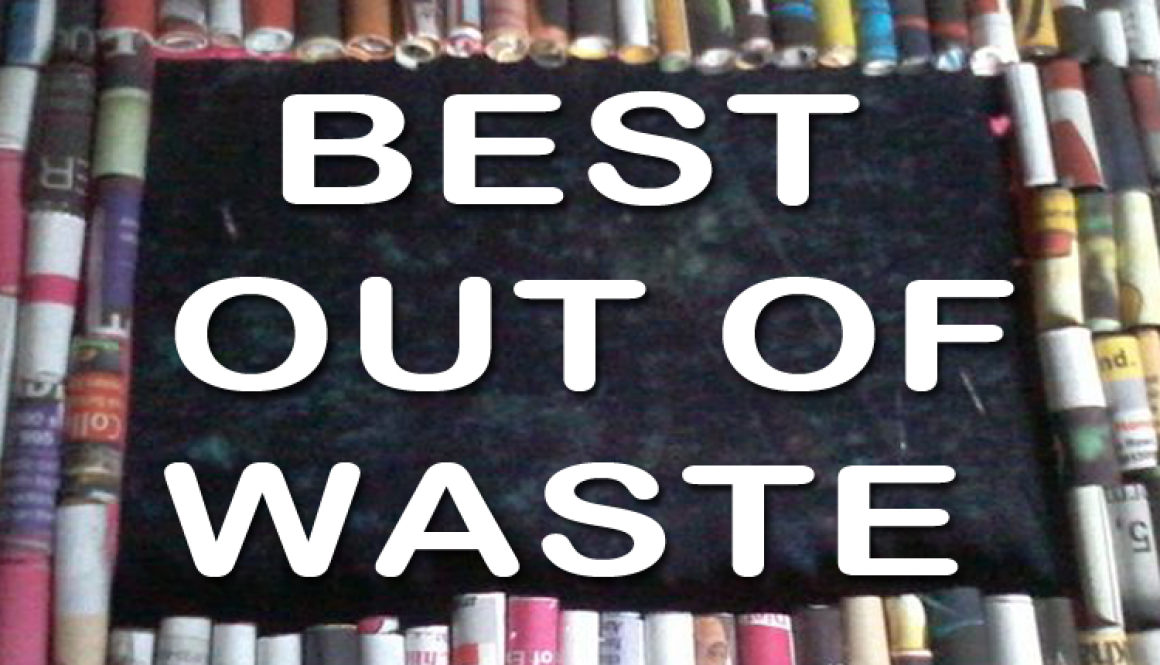 Report of best out of waste manav rachna vidyanatariksha for What is best out of waste