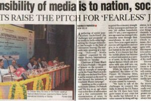National Media Conclave organized by MRIU draws a galaxy of Media Professionals to debate and discuss on media-centric issues