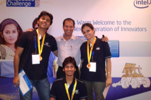 Gold Medal at Intel India Embedded Challenge