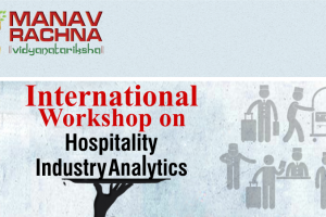 Certification in Hotel Industry Analytics (CHIA) Training Session and  Train-the-Trainer Workshop conducted by the STR SHARE Center  Monday and Tuesday, January 30th and 31st , 2017 at Manav Rachna International University