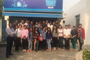 Industrial Visit To Mother Dairy , New Delhi