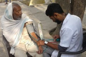 Community health camp at ANANGPUR VILLAGE an initiative by O.P.BHALLA Foundation