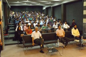 Guest lecture organized on 22-4-2016 by Mechanical Engineering Department