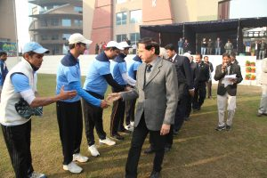 10th Manav Rachna Corporate Cricket Challenge Cup gets off to a flying start