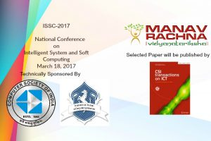 NATIONAL CONFERENCE ON INTELLIGENT SYSTEM AND SOFT COMPUTING