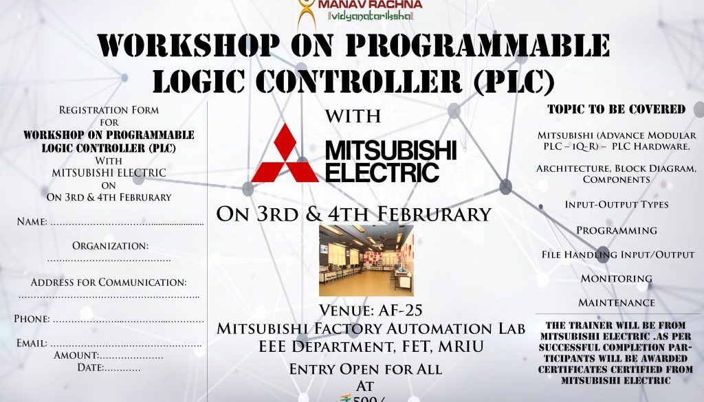 plc workshop reg.