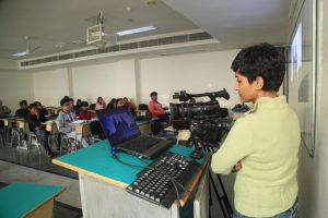 NDTV's Workshop on 'Camera  Handling Techniques'