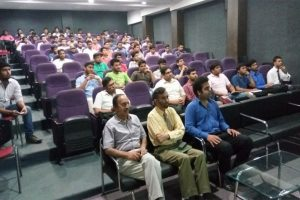 Guest lecture organized on 01-4-2016 by Mechanical Engineering Department