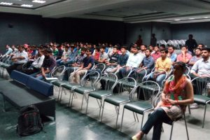 Guest lecture organized on 19-4-2016 by Mechanical Engineering Department