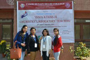 M.Sc. students of MRU at Zakir Hussain College, DU