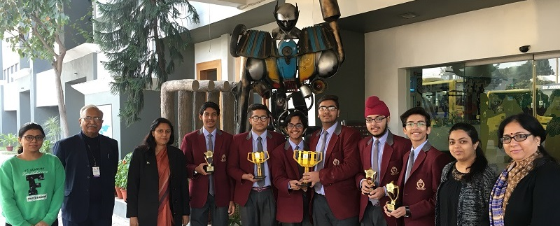 Manav Rachna International School, Sector-14, Faridabad declared Champions at the First Lego League Nationals
