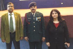 INDIAN ARMY VISITED MANAV RACHNA