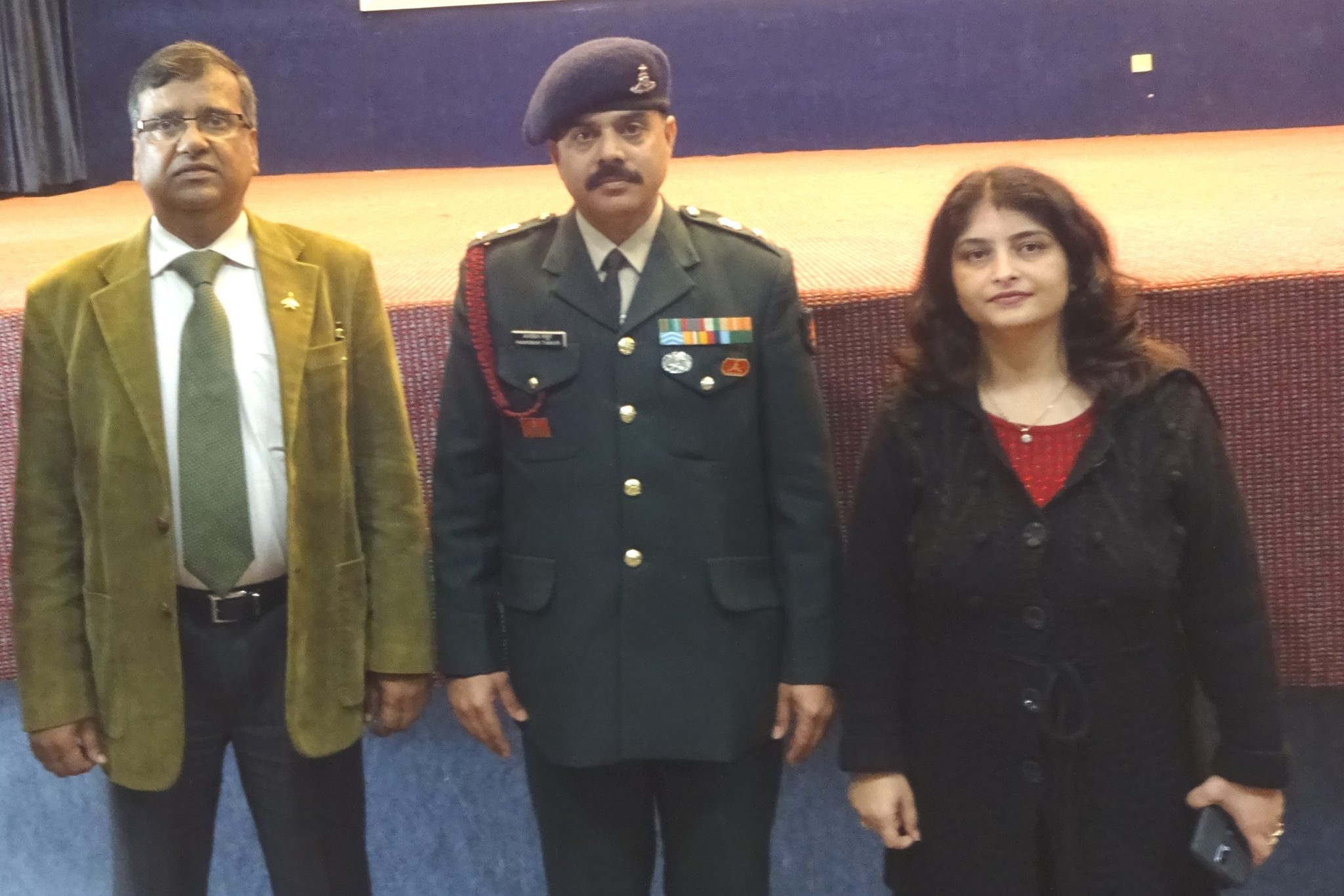 INDIAN ARMY VISITED MANAV RACHNA
