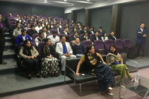 Guest lecture on 'Learning self and organization' at FMS, MRIU