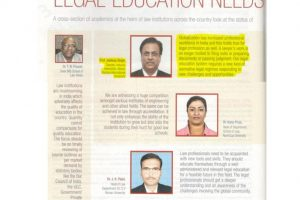 Career 360 Magazine: Legal education needs