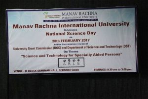 National Science Day Celebrations at FAS, MRIU
