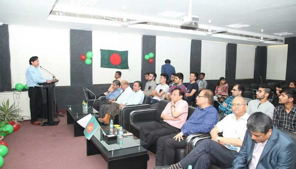 46th Independence Day of Bangladesh Celebrated at Manav Rachna