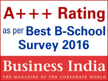 A    Rating by Business India