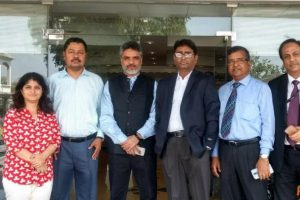 Accenture MD visited Manav Rachna