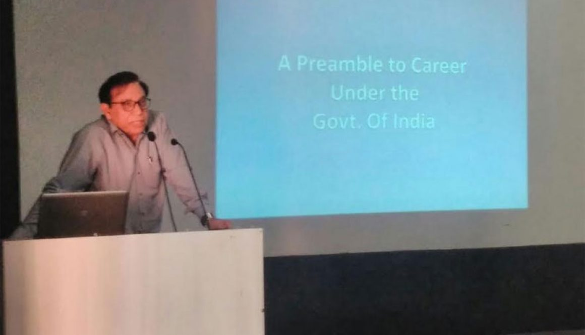 A Preamble to Career under the Government of India