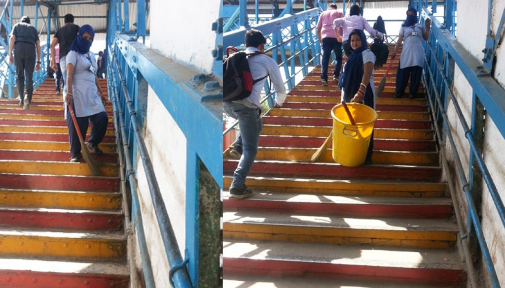 Cleaning-Drive-at-Faridabad-Railway-Station-image