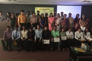"Department of Chemistry, FET, Manav Rachna International University Organized a competition ""Explore and Protect Environment"" on 31st March 2017"