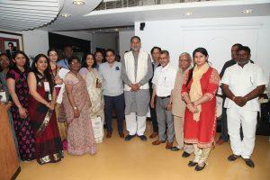 Hon'ble Shri Ram Bilas Sharma, Education Minister, Haryana, Mesmerizes With His Philosophy On Education