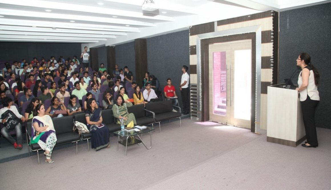 Alumni Lecture Organized on 24-4-2017 by Computer Science and Technology Department