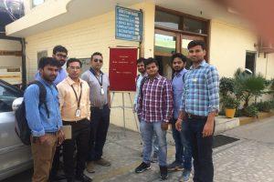 Industrial visit at Reva Industries Ltd. Faridabad
