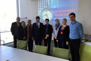 Prof. (Dr.) Sanjay Srivastava's current visit to Lahti University of Applied Sciences, Finland