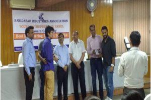 B. Tech CSE Students won 'Best Project Award' at FIA