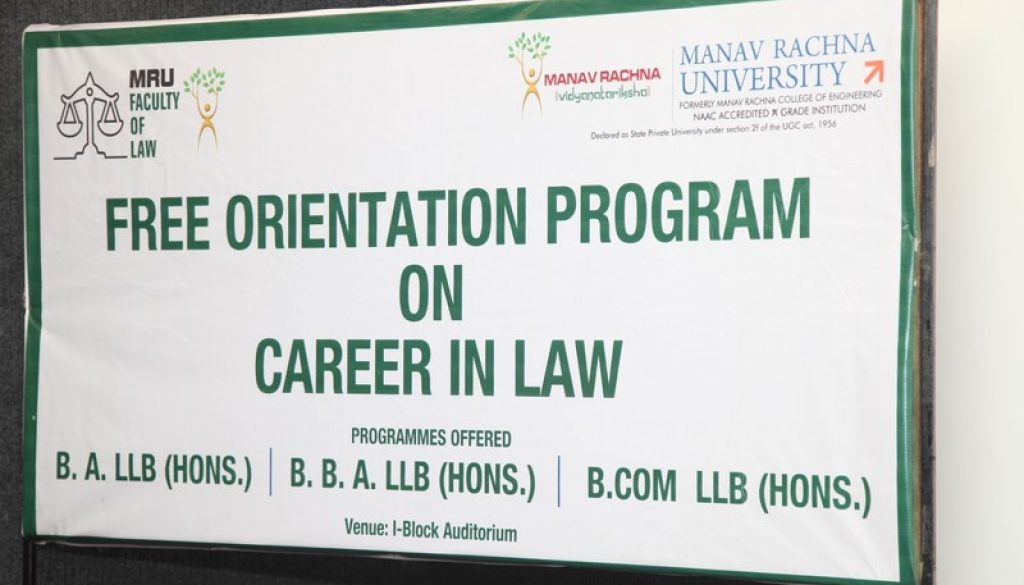 Career Orientation Program on CAREER IN LAW, on 20th May, 2017 (2)
